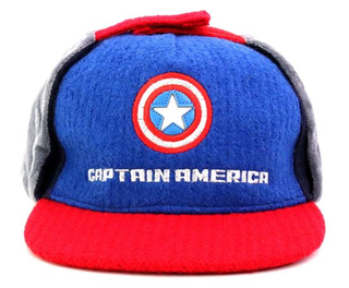 Children Fashion Winter Multi Earflaps Wool Embroidered Snapback Kid Caps Customized