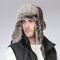 Man Women Winter Warm Russian Fur Trapper Hat with Earflap