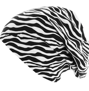BSCI Audit Breathable Summer Striped Urban Slouchy Cotton Jersey Beanie