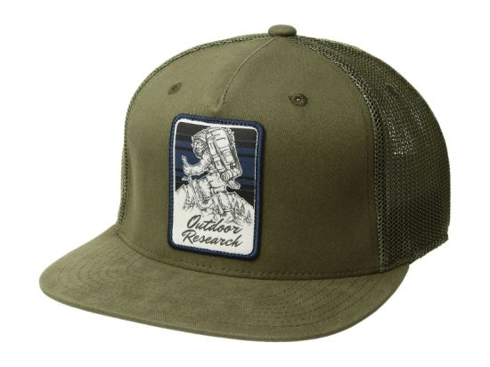 OEM Cotton Patch Green 5-Panel Nylon Mesh Snapback Trucker Caps